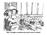 """""""Nice. I bought a camisole once but it never worked.""""  - Cartoon Premium Giclee Print by Michael Crawford"""
