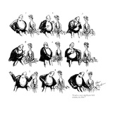 """You're a very intelligent little woman, my dear."" - New Yorker Cartoon Premium Giclee Print by Barbara Shermund"