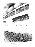 """Everybody's going somewhere except us."" - New Yorker Cartoon Premium Giclee Print by William O'Brian"