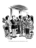 """""""The Dunhams have just been declared forever wild."""" - New Yorker Cartoon Premium Giclee Print by Jr., Whitney Darrow"""