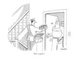 """Beer-o-gram."" - New Yorker Cartoon Premium Giclee Print by Jack Ziegler"