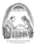 """I see a brilliant, attractive executive in her middle years. Witty, vivac…"" - New Yorker Cartoon Premium Giclee Print by Ed Fisher"