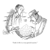 """""""I take it this is a very special occasion."""" - New Yorker Cartoon Premium Giclee Print by Gahan Wilson"""