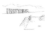"""Well, now we've seen it."" - New Yorker Cartoon Premium Giclee Print by Edward Koren"