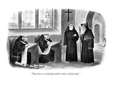 """They have a wonderful author-editor relationship."" - New Yorker Cartoon Premium Giclee Print by Richard Taylor"