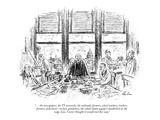 """. . . the newspapers, the TV networks, the railroads, farmers, school tea…"" - New Yorker Cartoon Premium Giclee Print by Alan Dunn"