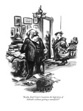 """Really, Karl! Can't I mention the high price of kohlrabi without getting …"" - New Yorker Cartoon Premium Giclee Print by Eldon Dedini"