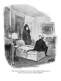 """Your idea of bringing the two of us closer together always seems to be fo…"" - New Yorker Cartoon Premium Giclee Print by Robert Weber"