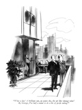 """What a day! A brilliant sun, an azure sky, the air like vintage wine! By …"" - New Yorker Cartoon Premium Giclee Print by Robert Weber"