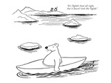 """It's Oglub's boat all right, but it doesn't look like Oglub."" - New Yorker Cartoon Premium Giclee Print by Otto Soglow"