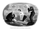 """I think he had the idea he was looking at costume jewelry."" - New Yorker Cartoon Premium Giclee Print by Richard Taylor"