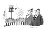 &quot;Liberals!&quot; - New Yorker Cartoon Premium Giclee Print by Dana Fradon