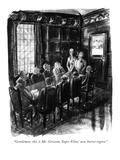 """Gentlemen, this is Mr. Griscom, Super Films' new horror expert."" - New Yorker Cartoon Premium Giclee Print by Barbara Shermund"
