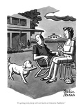"""""""I'm getting pretty fed up with teeth marks on Clementine Paddleford."""" - New Yorker Cartoon Premium Giclee Print by Peter Arno"""