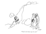 """That's the Stone Age for you."" - New Yorker Cartoon Premium Giclee Print by Al Ross"
