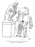 """""""I know the type. All you'd ever get out of him would be 'We can't afford …"""" - New Yorker Cartoon Premium Giclee Print by L.H. Siggs"""