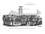 """Man! I hate to think of what the collective guilt adds up to around here!"" - New Yorker Cartoon Premium Giclee Print by Dana Fradon"