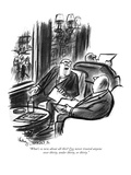 """What's so new about all this? I've never trusted anyone over thirty, unde…"" - New Yorker Cartoon Premium Giclee Print by Jr., Whitney Darrow"