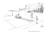 """You're a damn sore loser, Lee."" - New Yorker Cartoon Premium Giclee Print by James Stevenson"