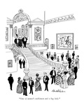 """""""One of nature's noblemen and a bag lady."""" - New Yorker Cartoon Premium Giclee Print by J.B. Handelsman"""