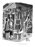"""In a minute!  In a minute!"" - New Yorker Cartoon Premium Giclee Print by Peter Arno"