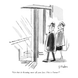 """Get that de Kooning sneer off your face. This is Turner!"" - New Yorker Cartoon Premium Giclee Print by Dana Fradon"