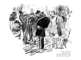 """""""I'm so glad to be here and see Mother married. The time before I was sick…"""" - New Yorker Cartoon Premium Giclee Print by Alice Harvey"""