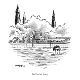 The Tip of the Iceberg. - New Yorker Cartoon Premium Giclee Print by Henry Martin