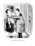 """Would I lie to you, Beatrice?"" - New Yorker Cartoon Premium Giclee Print by William Steig"