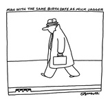 Typical businessman, forty, with briefcase. - New Yorker Cartoon Premium Giclee Print by Charles Barsotti