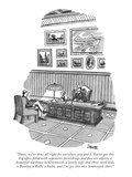 """Dave, we've done all right for ourselves, you and I. You've got this big …"" - New Yorker Cartoon Premium Giclee Print by Jack Ziegler"