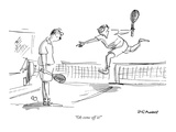 """""""Oh come off it!"""" - New Yorker Cartoon Premium Giclee Print by Frank Modell"""