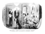 """Tremaine, could I see you for a moment—alone?"" - New Yorker Cartoon Premium Giclee Print by Richard Taylor"