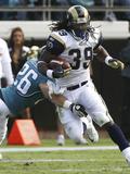 Rams Jaguars Football: Jacksonville, FL - Steven Jackson Fotografisk trykk av Phil Coale