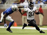 Jaguars Jones Drew Football: Detroit, MI - Maurice Jones-Drew Photographic Print by Paul Sancya