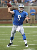 Redskins Lions Football: Detroit, MI - Matthew Stafford Photographic Print by Carlos Osorio