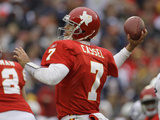 Cowboys Chiefs Football: Kansas City, MO - Matt Cassel Photographic Print by Charlie Riedel