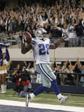 APTOPIX Eagles Cowboys Football: Arlington, TX - Felix Jones Photographic Print by Mike Fuentes