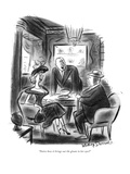 """""""Notice how it brings out the gleam in her eyes?"""" - New Yorker Cartoon Premium Giclee Print by Jr., Whitney Darrow"""