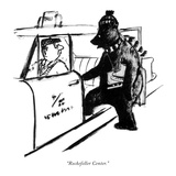 """Rockefeller Center."" - New Yorker Cartoon Premium Giclee Print by Warren Miller"