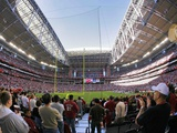 Arizona Cardinals--University of Phoenix Stadium: Glendale, ARIZONA - The University of Phoenix Sta Plakat av Rick Hossman