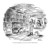 """""""I've had it explained to me, but I still don't understand it."""" - New Yorker Cartoon Premium Giclee Print by Alan Dunn"""