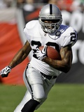 Raiders Buccaneers Football: Tampa, FLORIDA - Darren McFadden Photographic Print by Chris O'Meara