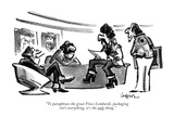 """To paraphrase the great Vince Lombardi, packaging isn't everything, it's …"" - New Yorker Cartoon Premium Giclee Print by Lee Lorenz"