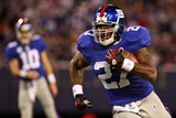 Cardinals Giants Football: East Rutherford, NJ - Brandon Jacobs Photographic Print by Tim Larsen