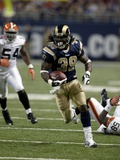 Brown Rams Football: St. Louis, MISSOURI - Steven Jackson Photographic Print by Tom Gannam