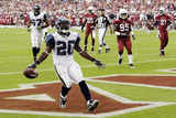Seahawks Cardinals Football: Glendale, AZ - Justin Forsett Photographic Print by Ross D. Franklin