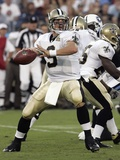 DREW BREES: NASHVILLE, TENNESSEE - Drew Brees Photographic Print by John Russell