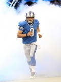 Vikings Lions Football: Detroit, MI - Matthew Stafford Photographic Print by Carlos Osorio