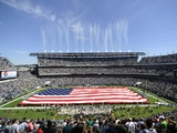 Saints Eagles Football: Philadelphia, PA - Lincoln Financial Field Photographic Print by Michael Perez